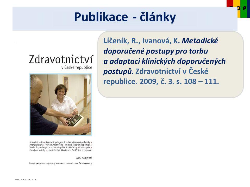 4.1.2011 CKDP Líčeník, R., Ivanová, K.