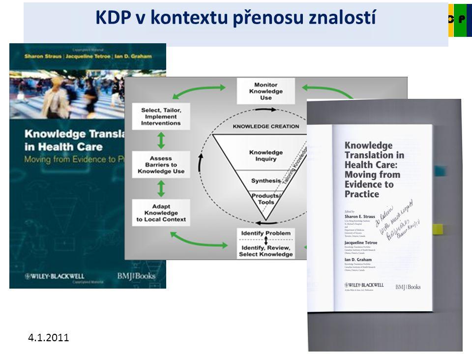 4.1.2011 CKDP KDP v kontextu přenosu znalostí