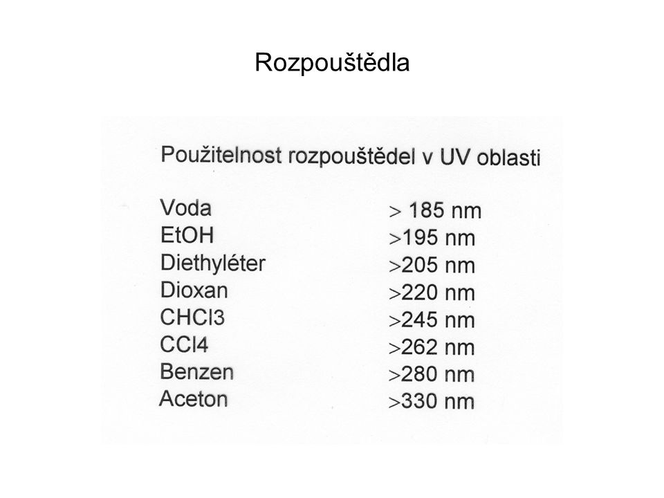 Detektory Fotonásobič