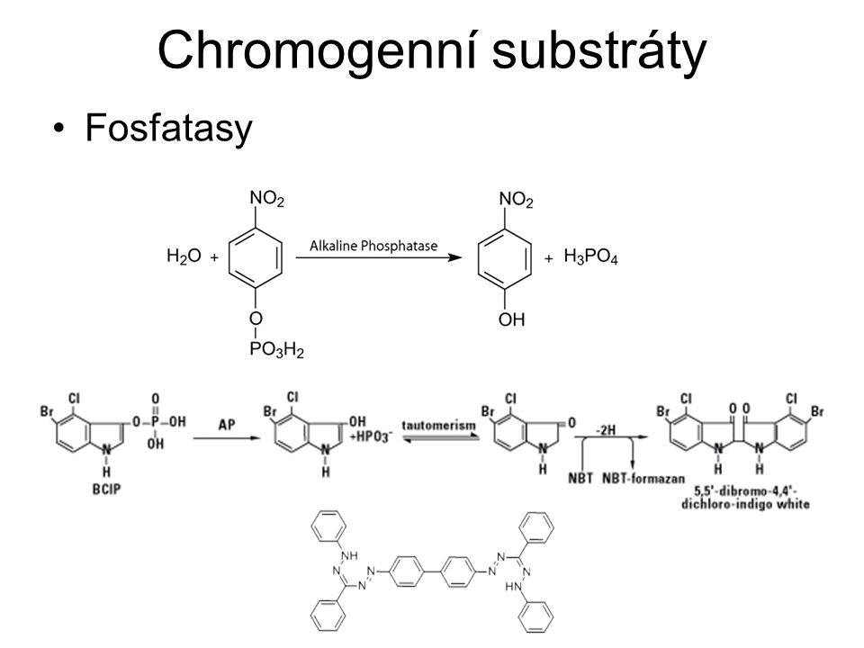 Chromogenní substráty Glykosidasy