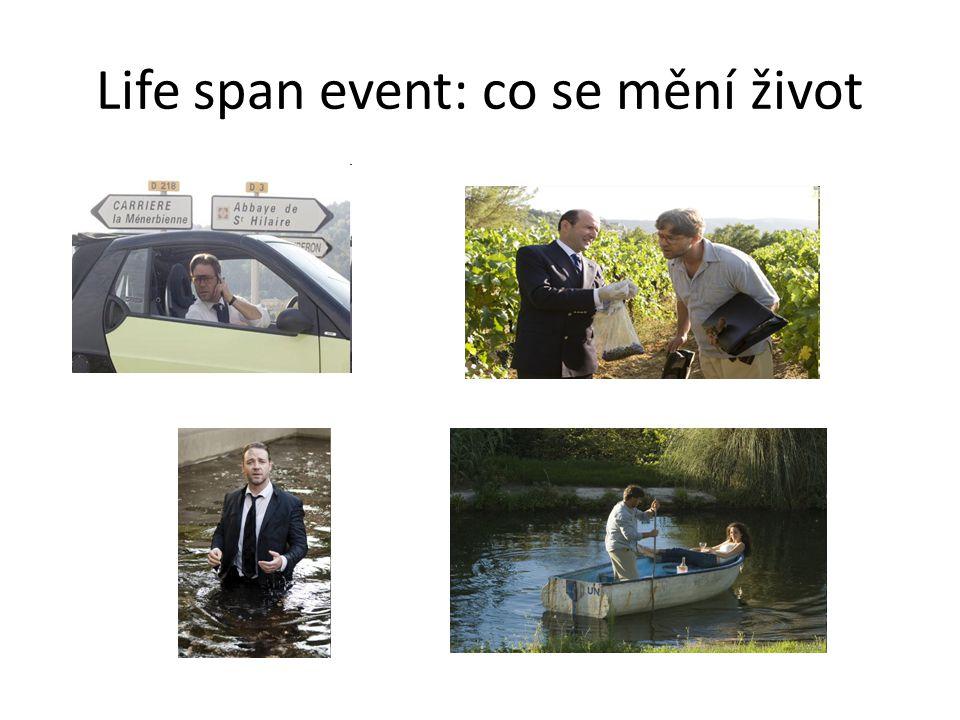 Life span event: co se mění život