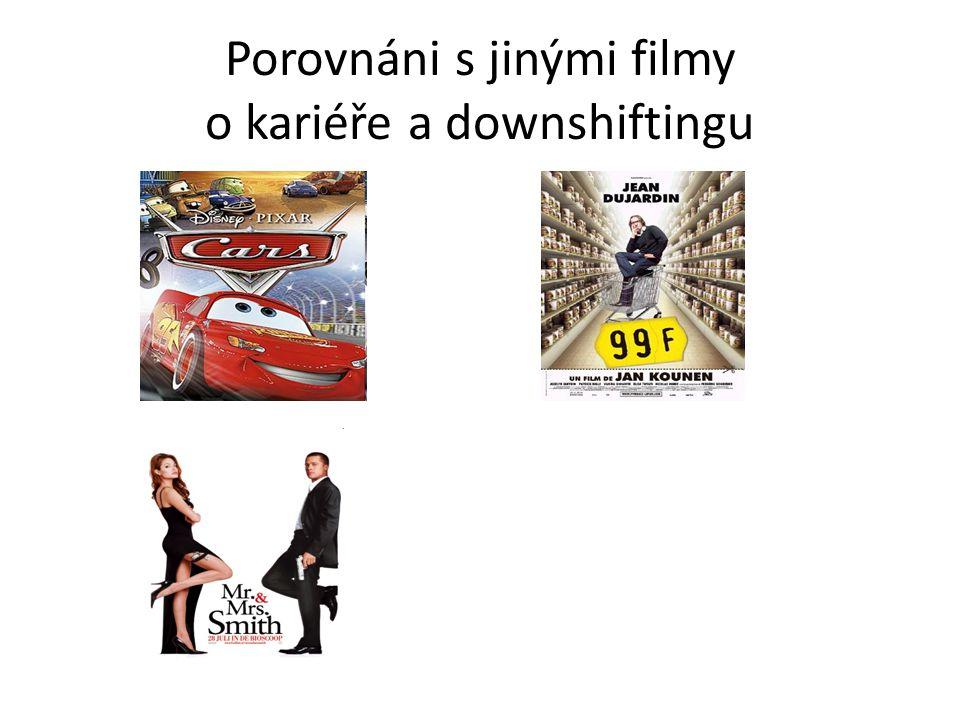 Porovnáni s jinými filmy o kariéře a downshiftingu