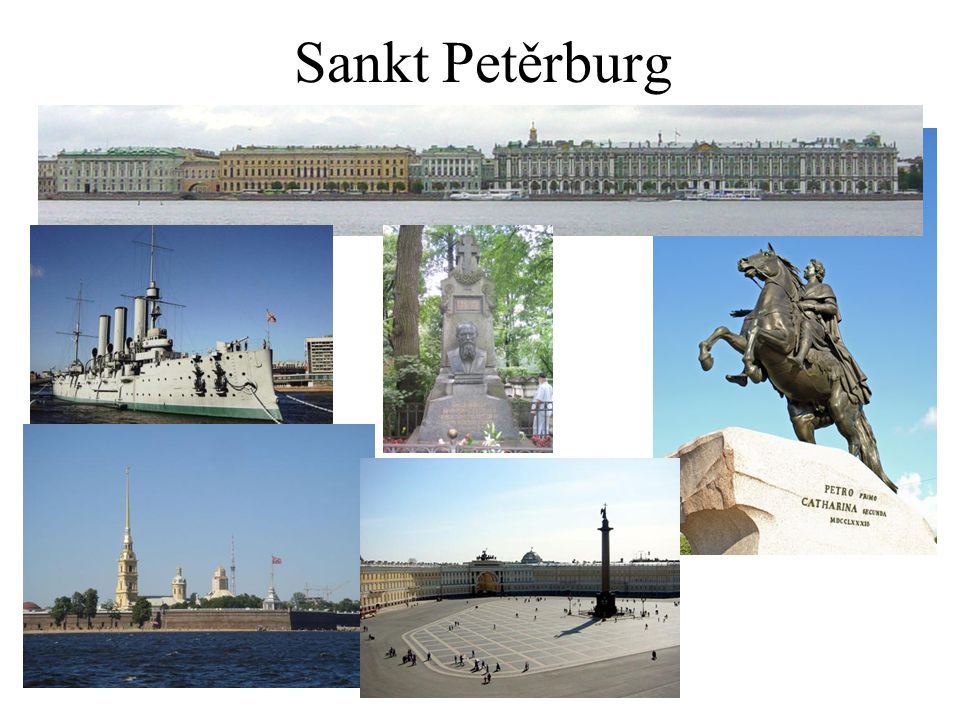 Okolí Petrohradu Petrodvorec – palác a zahradyKateřinský palác Novgorod – hradby a sv.