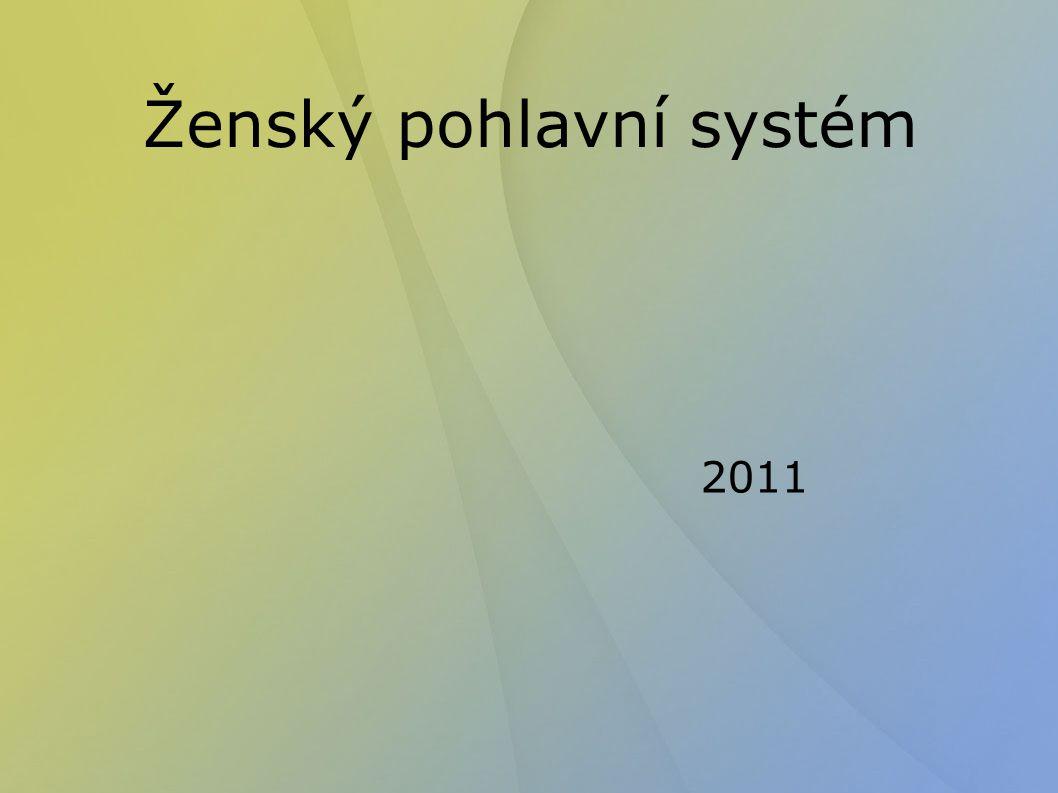 Ženský pohlavní systém 2011