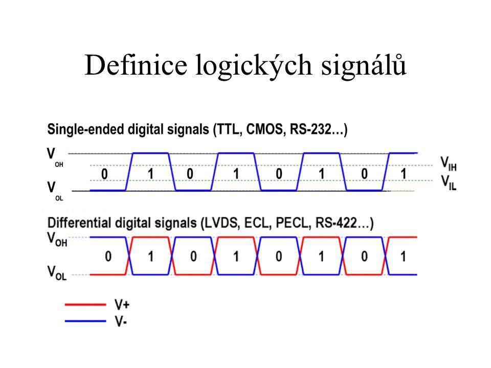 Definice logických signálů