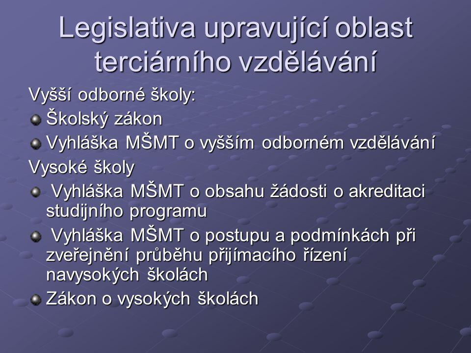 Povinnosti SVŠ Povinnost vypracovat, předložit ministerstvu a zveřejnit výroční zprávu o činnosti a v případě, že obdržela dotaci, i výroční zprávu o hospodaření.
