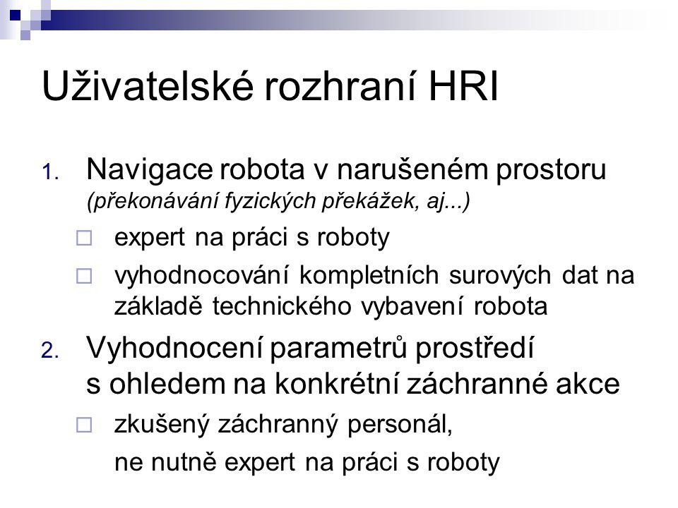 Uživatelské rozhraní HRI 1.