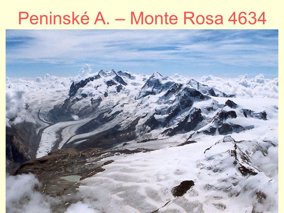 Peninské A. – Monte Rosa 4634
