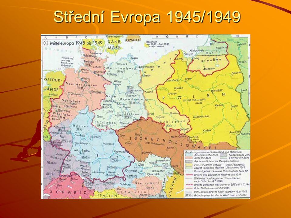 Střední Evropa 1945/1949