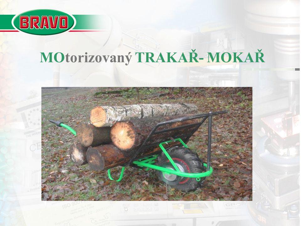 MOtorizovaný TRAKAŘ- MOKAŘ