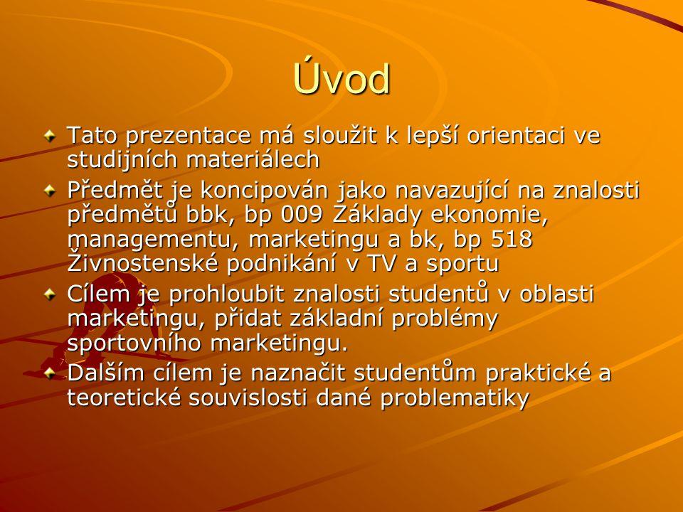 Literatura Světlík, Marketing cesta k trhu Vysekalová, J.