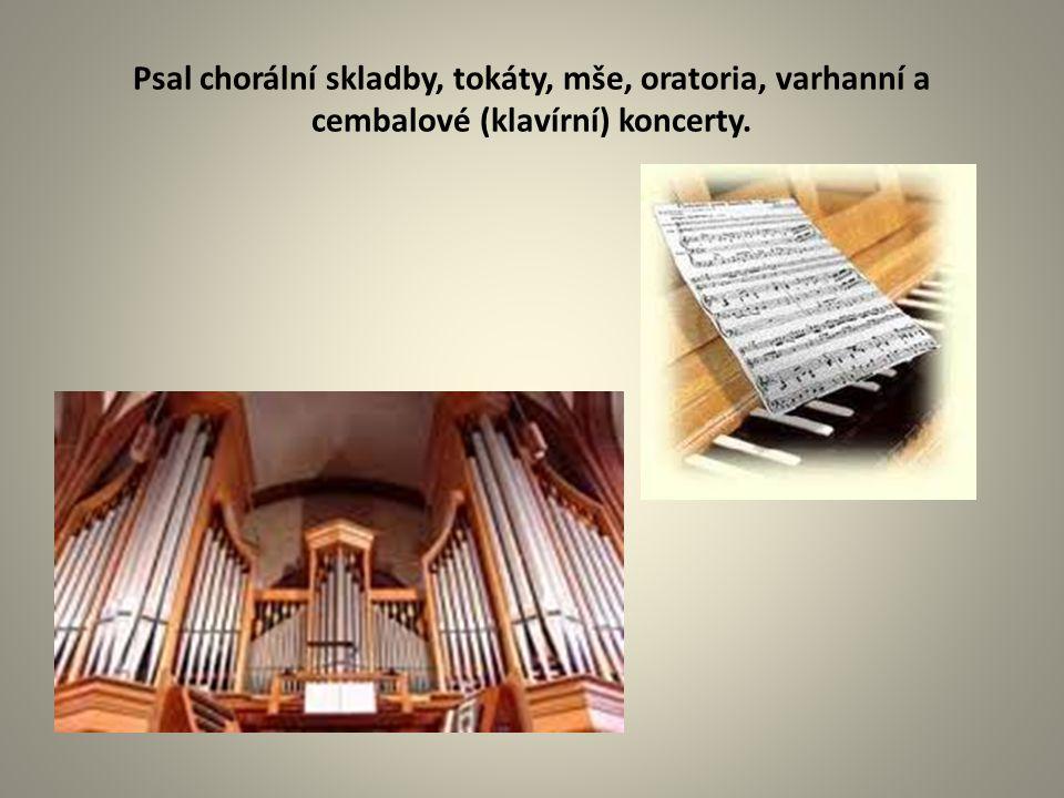 Bachovo hudební myšlení je pronikavé a jasné, přitom však nepostrádá výraznou citovost.