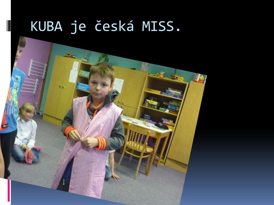 KUBA je česká MISS.