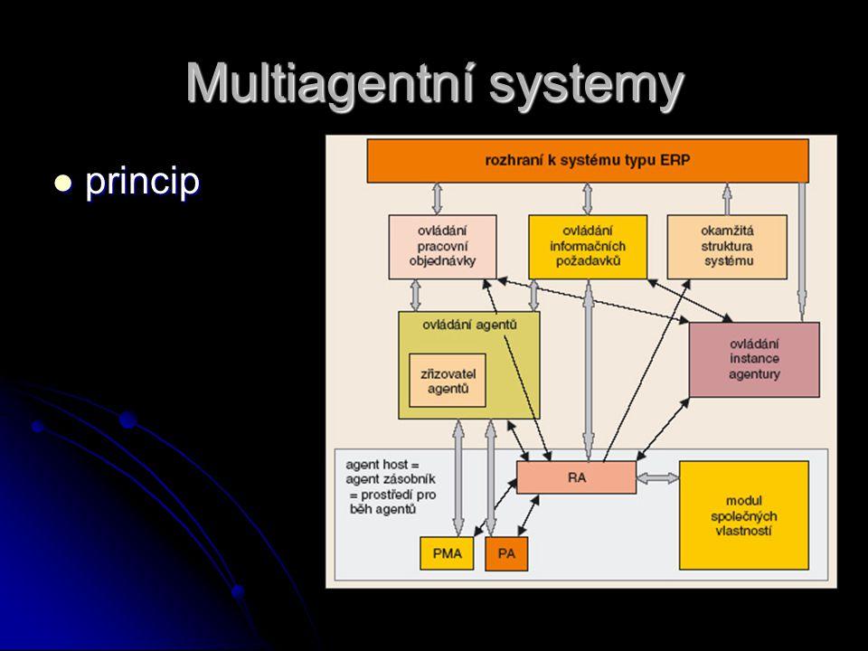 Multiagentní systemy princip princip