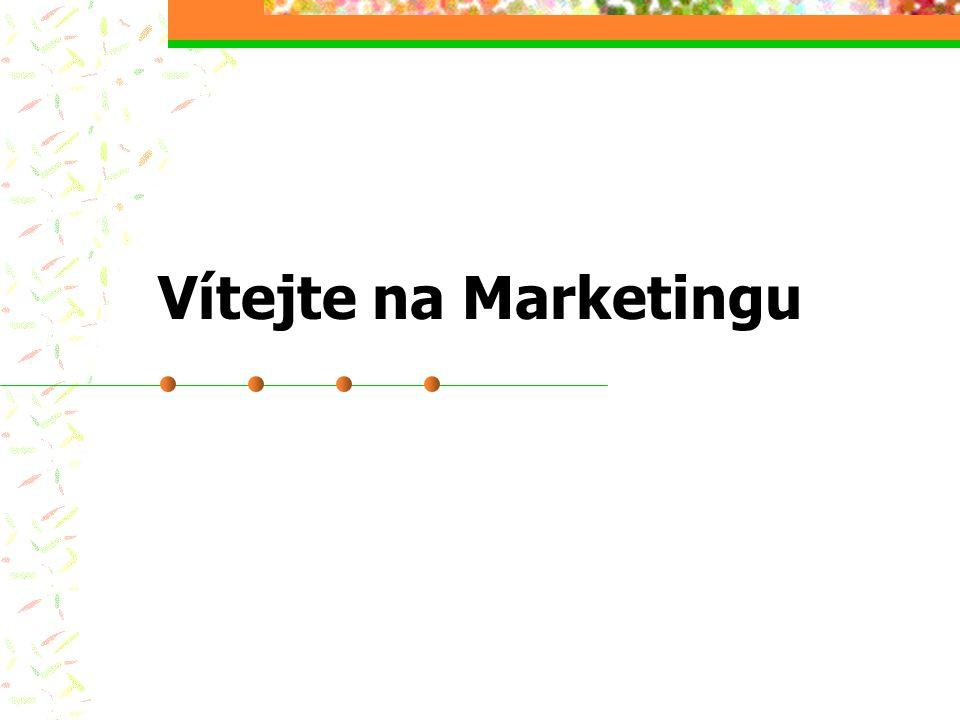 Použité zdroje Armstrong, G., Kotler, P.Marketing Kotler, P.