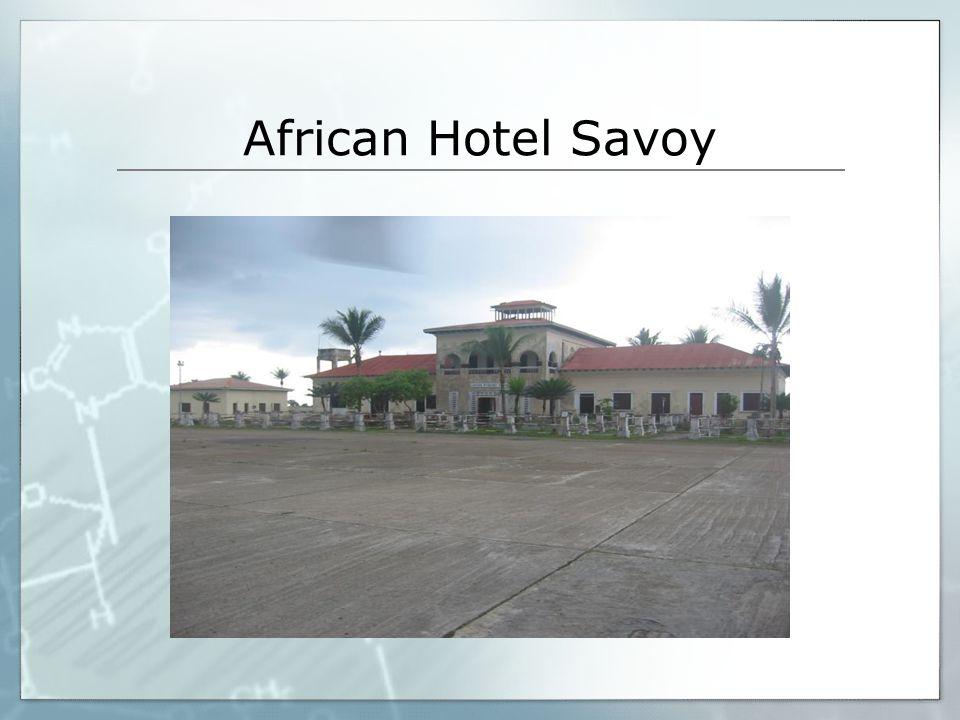 African Hotel Savoy