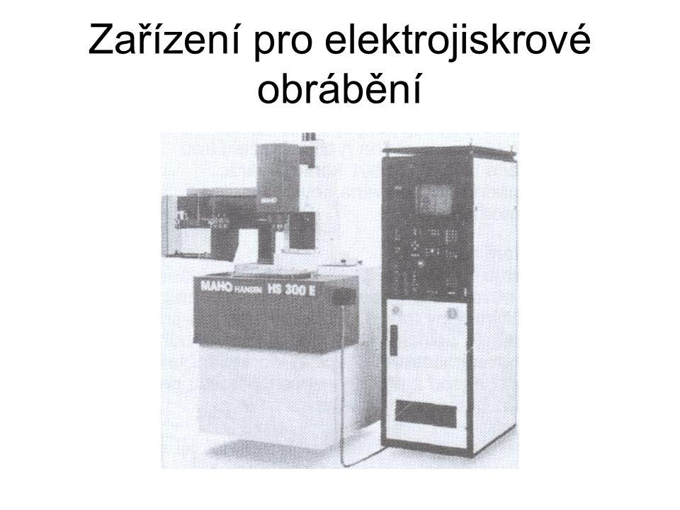 Zařízení pro elektrojiskrové vrtání a zahlubování