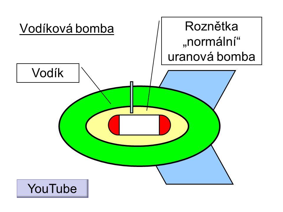 """Vodíková bomba Vodík Roznětka """"normální"""" uranová bomba YouTube"""