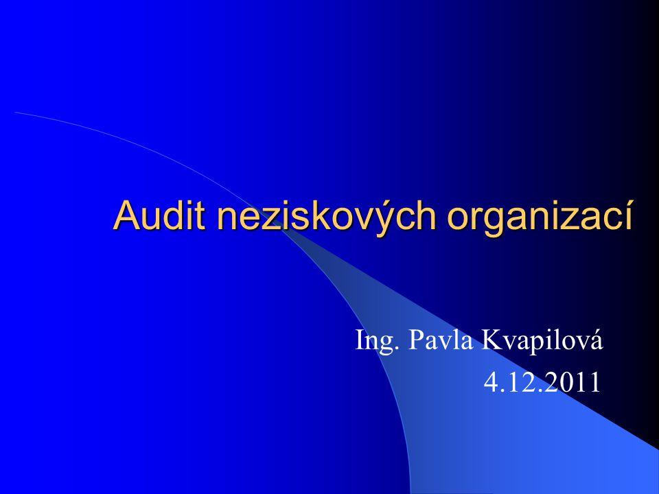 Povinnost ověření a zveřejnění roční účetní závěrka nadace musí být ověřena auditorem roční účetní závěrka nadačního fondu musí být ověřena auditorem za kalendářní rok, v němž úhrn vykazovaných celkových nákladů nebo výnosů převýší 3 mil.