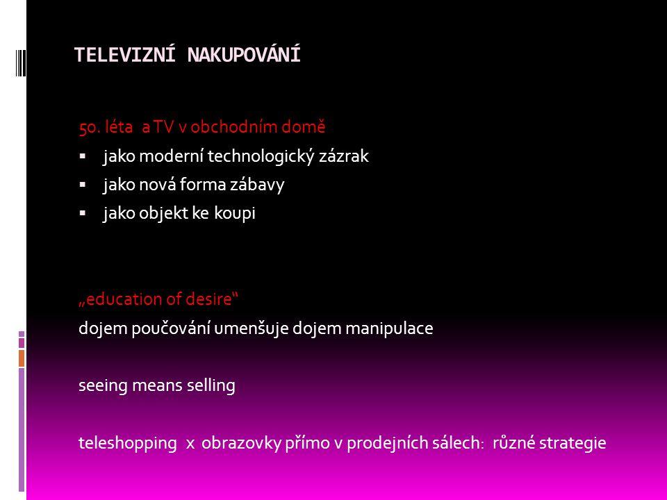 TELEVIZNÍ NAKUPOVÁNÍ 50.