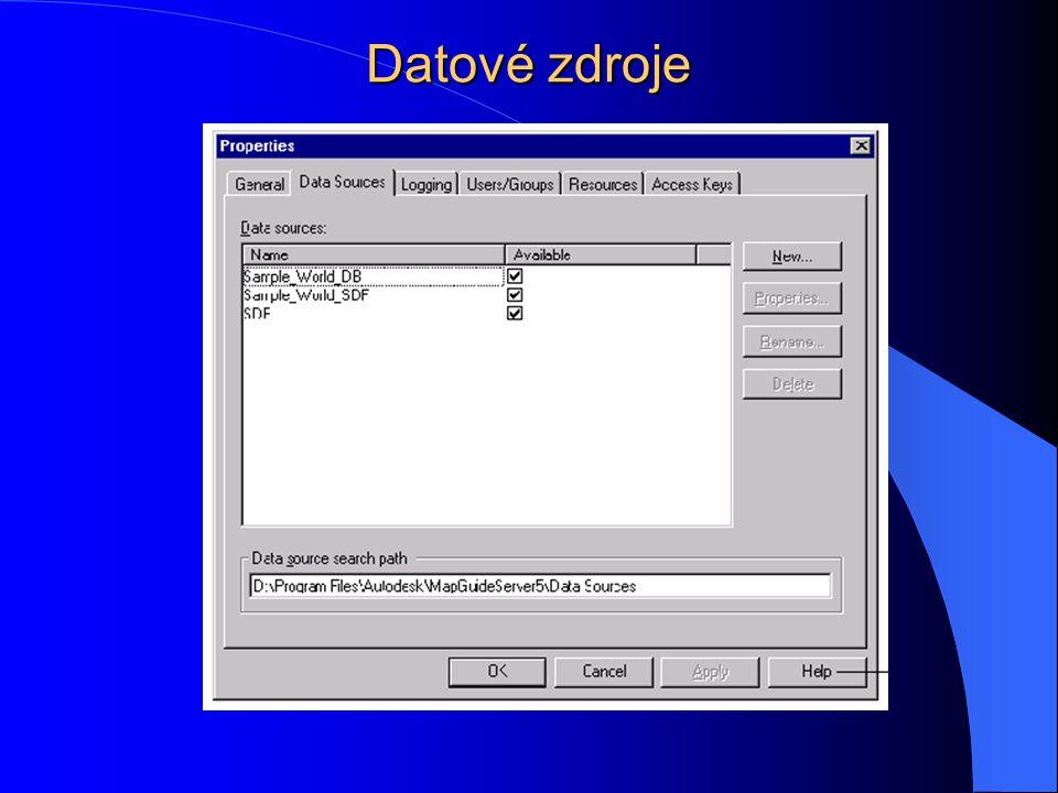 Datové zdroje
