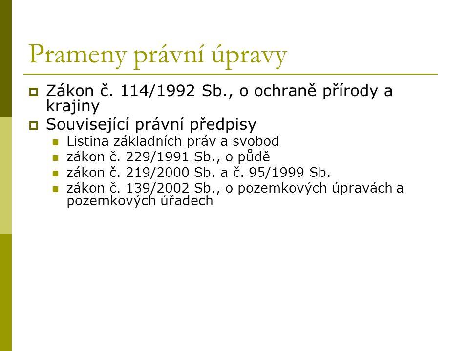 """Ústavně-právní základy  Čl.11 LZPS Odst. 3 """"vlastnictví zavazuje, nesmí být zneužito na ….."""