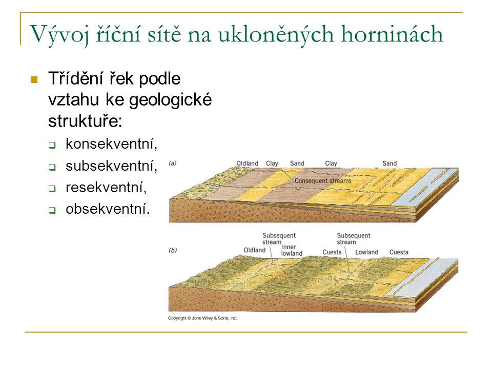 Reliéf na zvrásněných horninách Příklady strukturních tvarů:  pánve  klenby  vrásová pohoří: jednoduchá složitá (brachy–antiklinální, –synklinální stavba)  příkrovová pohoří  vrásno-zlomová pohoří