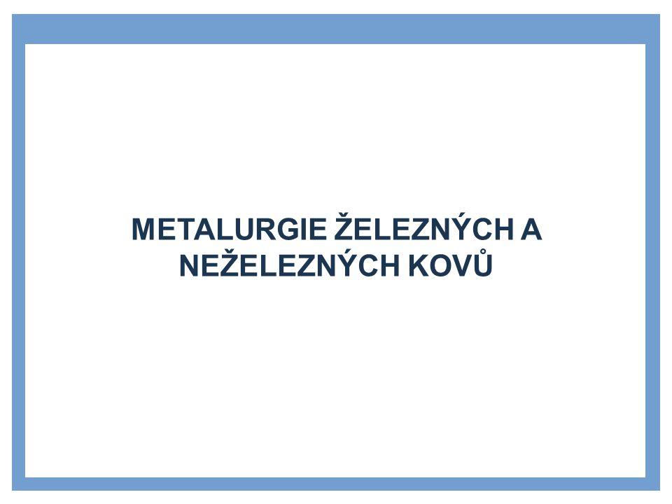 ROZDĚLENÍ METALURGIE ŽELEZNÝCH A NEŽELEZNÝCH KOVŮ »Odlévání »Válcování »Kování »Stříhání a prostřihování »Ohýbání »tažení »Svařování