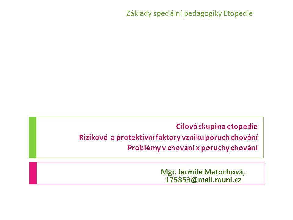 Protektivní faktory dle Šolcové (2009)  Úroveň rodiny  Podporující rodina (povzbuzení, pomoc, vřelost; soudržnost péče; blízký vztah k pečujícím osobám; víra v dítě; neobviňování; vzájemná manželská opora; talent, koníček  Socioekonomický status  Úroveň komunity  Školní zkušenosti (podporující kamarádi a vrstevníci; pozitivní vliv učitele; úspěch  Podporující komunita (víra v jedince, netrestání)  Úroveň kultury  Tradiční aktivity, tradiční spiritualita; tradiční jazyk; tradiční medicína
