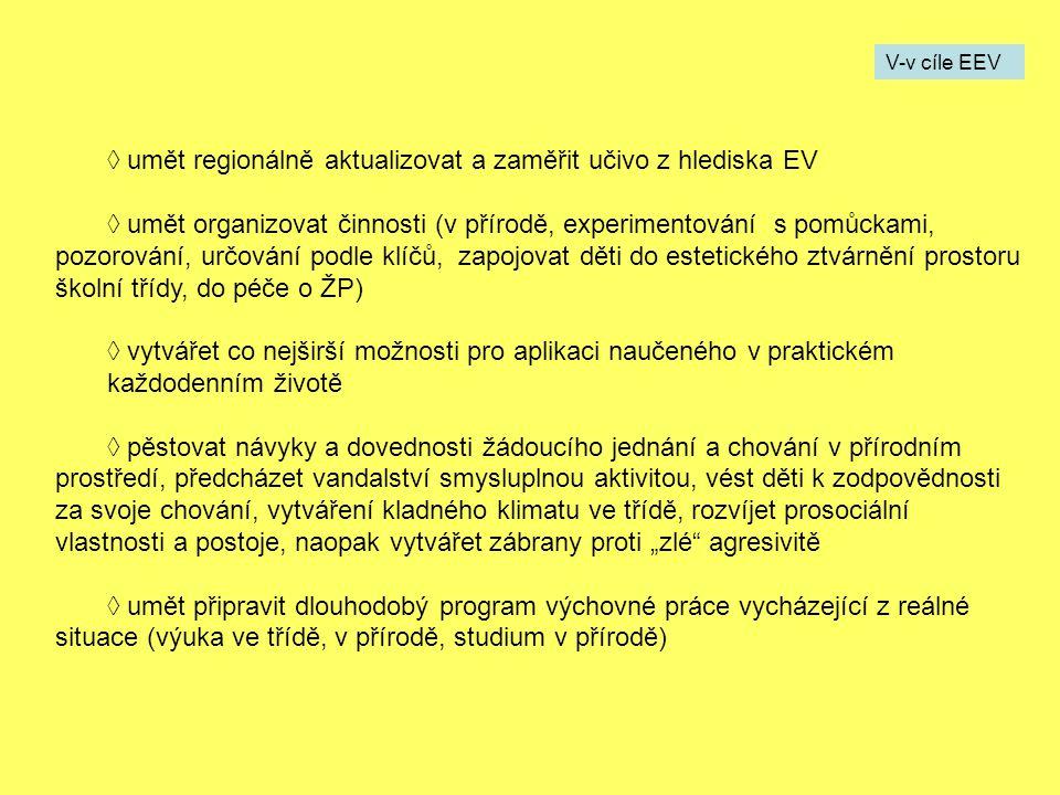 Dokumenty o EV Zákony: 17/1992 Sb.– o ŽP 114/92 Sb.