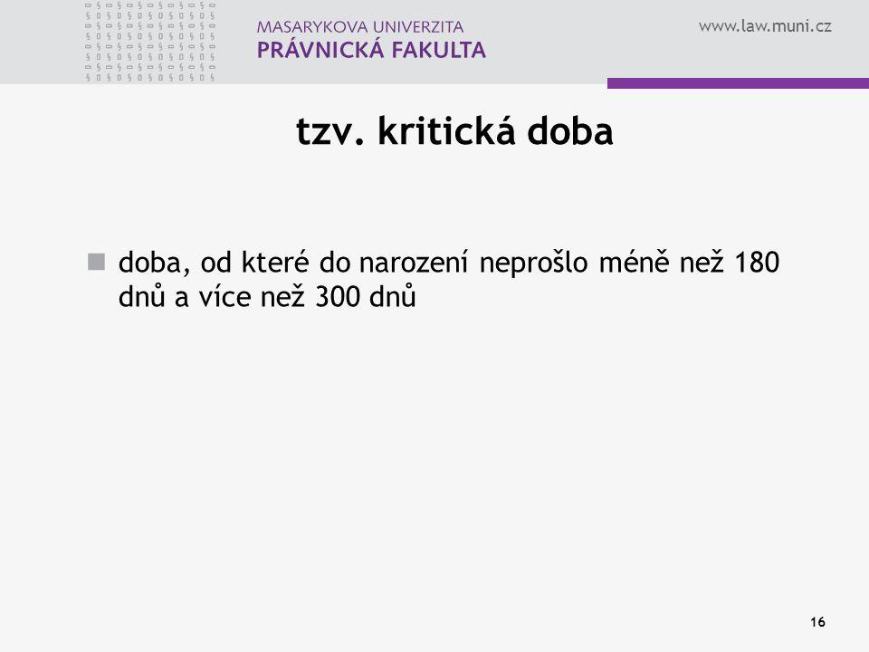www.law.muni.cz 16 tzv.