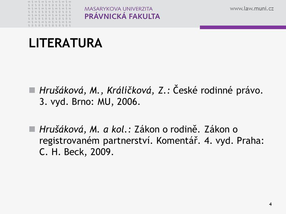 www.law.muni.cz 15 3.DOMNĚNKA OTCOVSTVÍ § 54 odst.