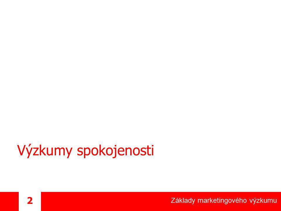 Základy marketingového výzkumu 43 Jak na to.