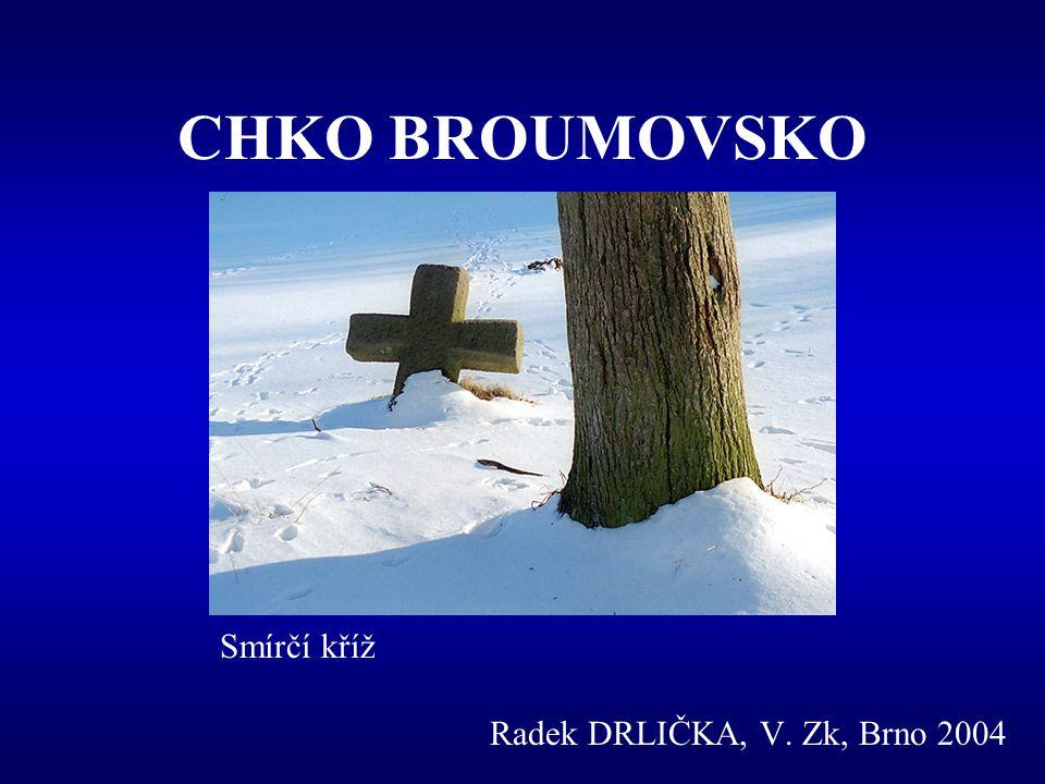 CHKO BROUMOVSKO Radek DRLIČKA, V. Zk, Brno 2004 Smírčí kříž