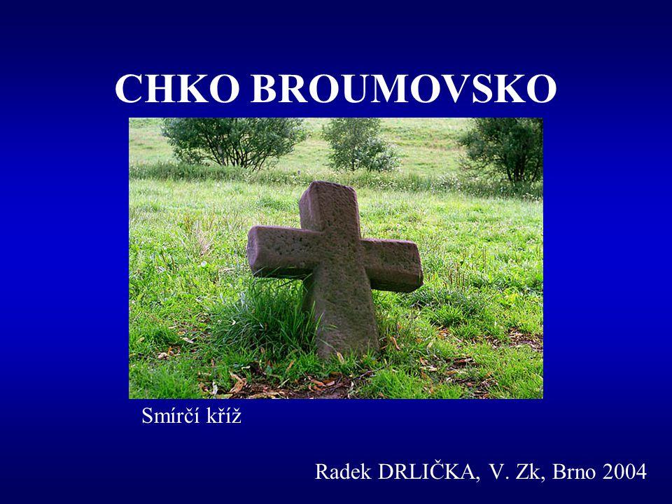 CHKO BROUMOVSKO Javoří hory a Broumov z Broumovských stěn