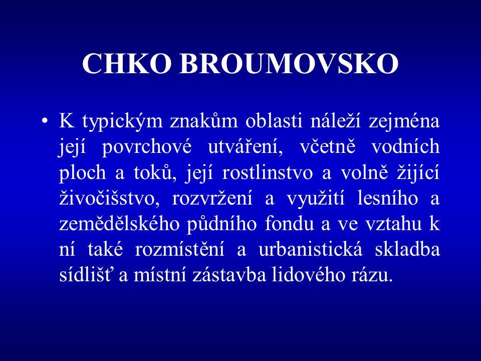 CHKO BROUMOVSKO Broumovské stěny Kuesty, rokle, skalní amfiteátry, skalní hřiby Inverze vegetačních stupňů