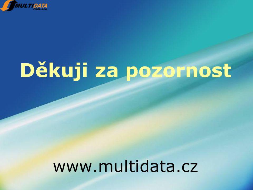 Děkuji za pozornost www.multidata.cz