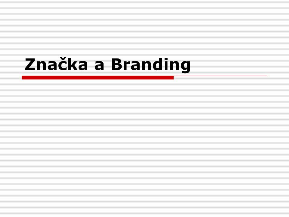 Značka a Branding