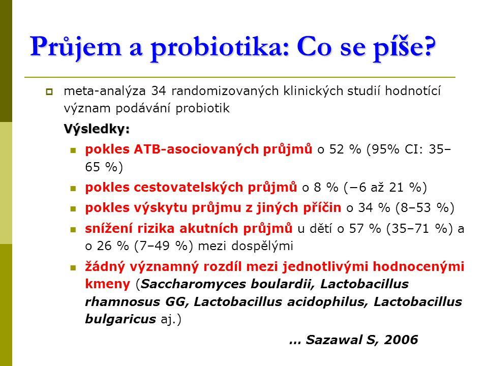 Průjem a probiotika: Co se p íš e.