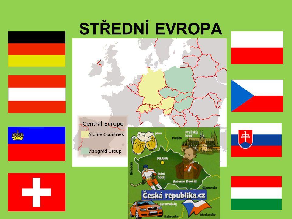 Státy Střední Evropy 1.Státy tzv.