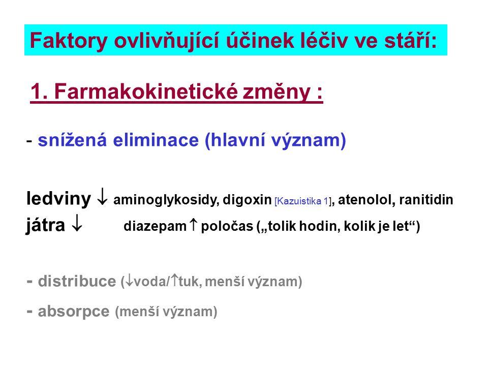 NSA (koxiby, ale i klasická) zvyšují riziko infarktu myokardu o 24-55%: u osob >65 let připadá 1 IM navíc při podávání diklofenaku 521 pacientům rofekoxibu 695 pacientům ibuprofenu 1005 pacientům Hippisley-Cox, Coupland BMJ 11 June 2005 Vol.330;pp1366- relat.riziko IM rofekoxib 1.32 ibuprofen 1.24 diclofenac 1.55 bez NSA: 4,57 IM/ 1000 pacientů >65 let / rok