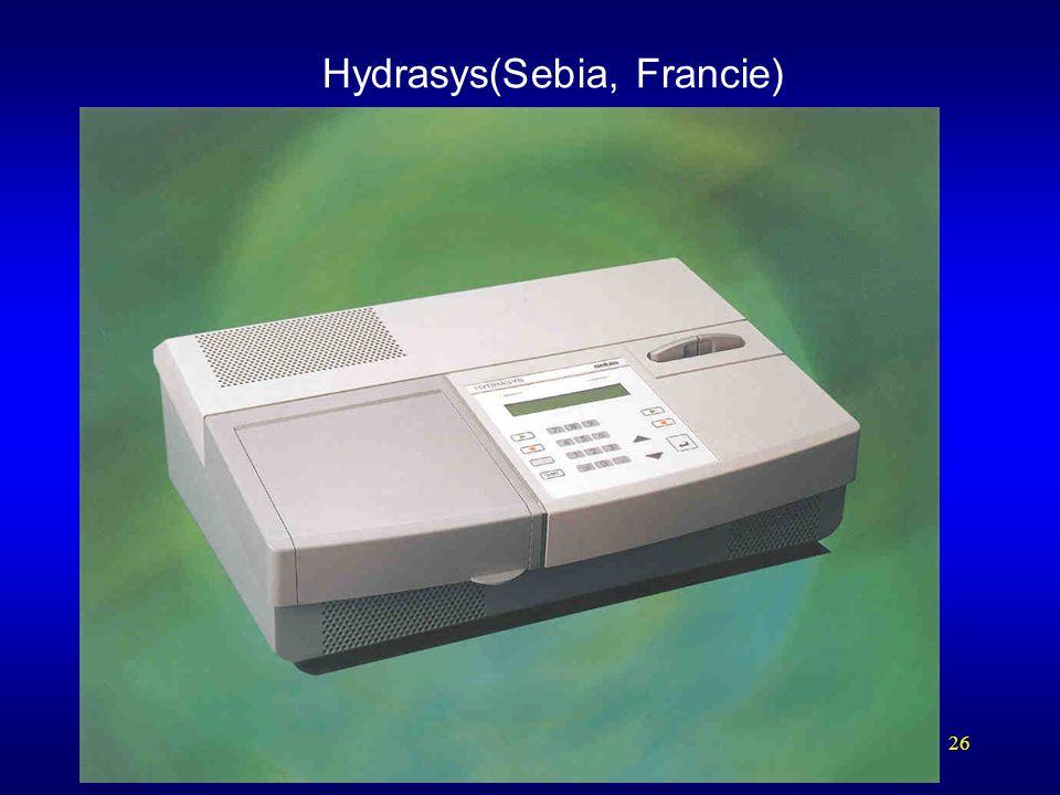 26 Hydrasys(Sebia, Francie)