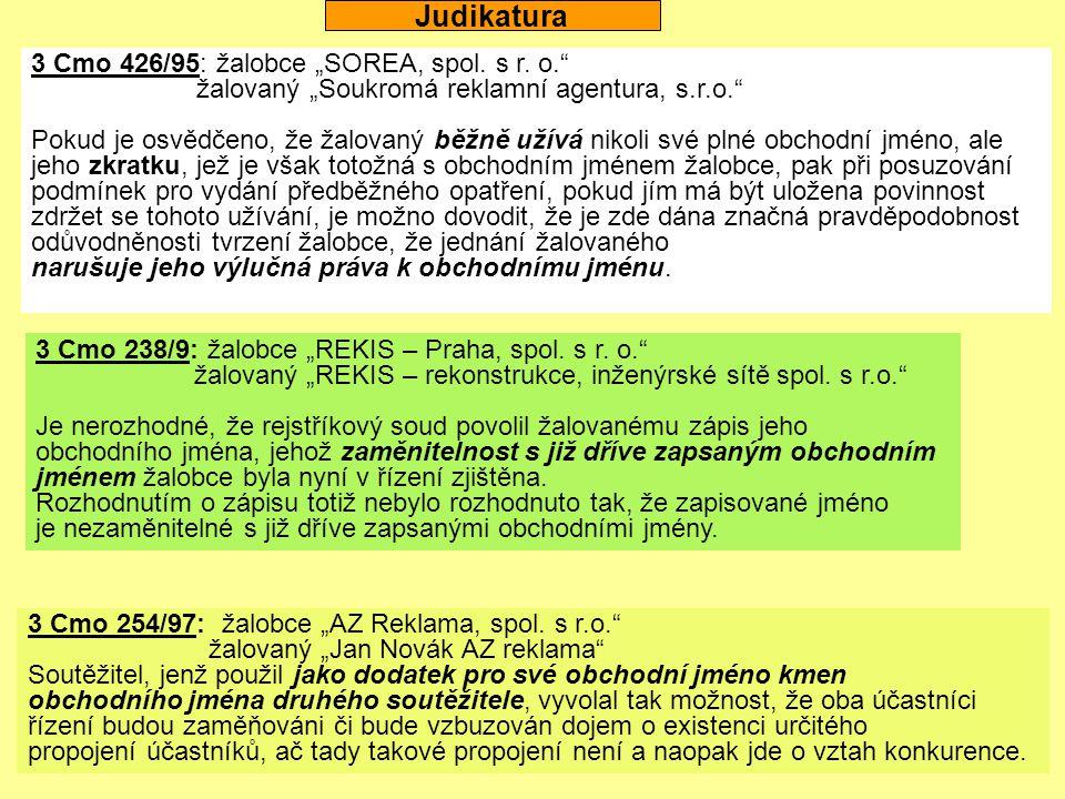 """3 Cmo 371/95: žalobce """"Podzemní stavby Praha, a.s. , žalovaní """"Podzemní stavby Bohemia, a.s. a """"Podzemní stavby Bohemia, divize 1, spol."""