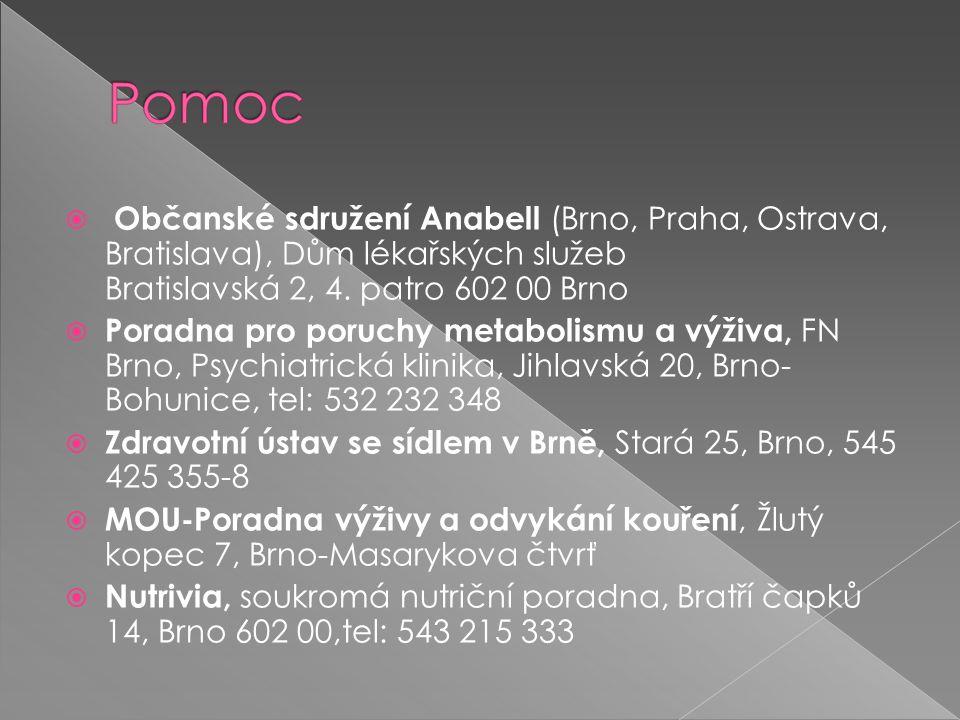  Občanské sdružení Anabell (Brno, Praha, Ostrava, Bratislava), Dům lékařských služeb Bratislavská 2, 4.
