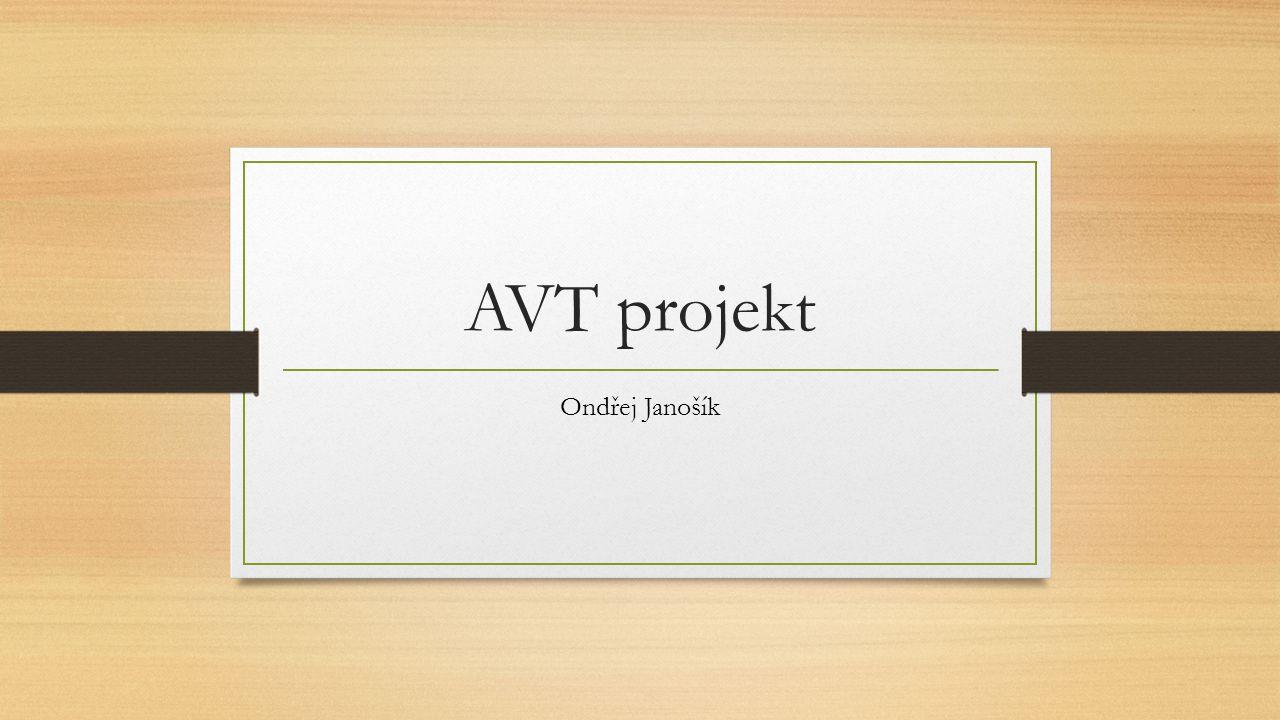 AVT projekt Ondřej Janošík