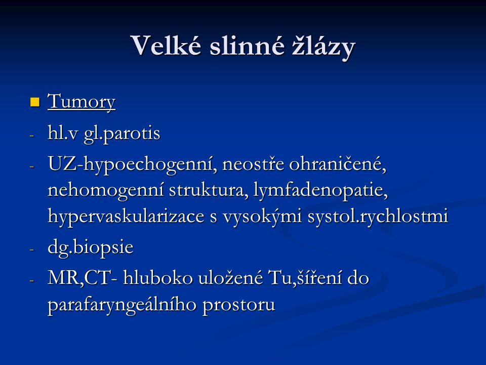 Uzlinové syndromy Lymfadenitidy, primární a sekundární nádory uzlin.