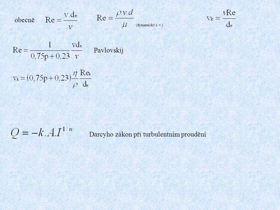 Metody stanovení koeficientu filtrace 1.