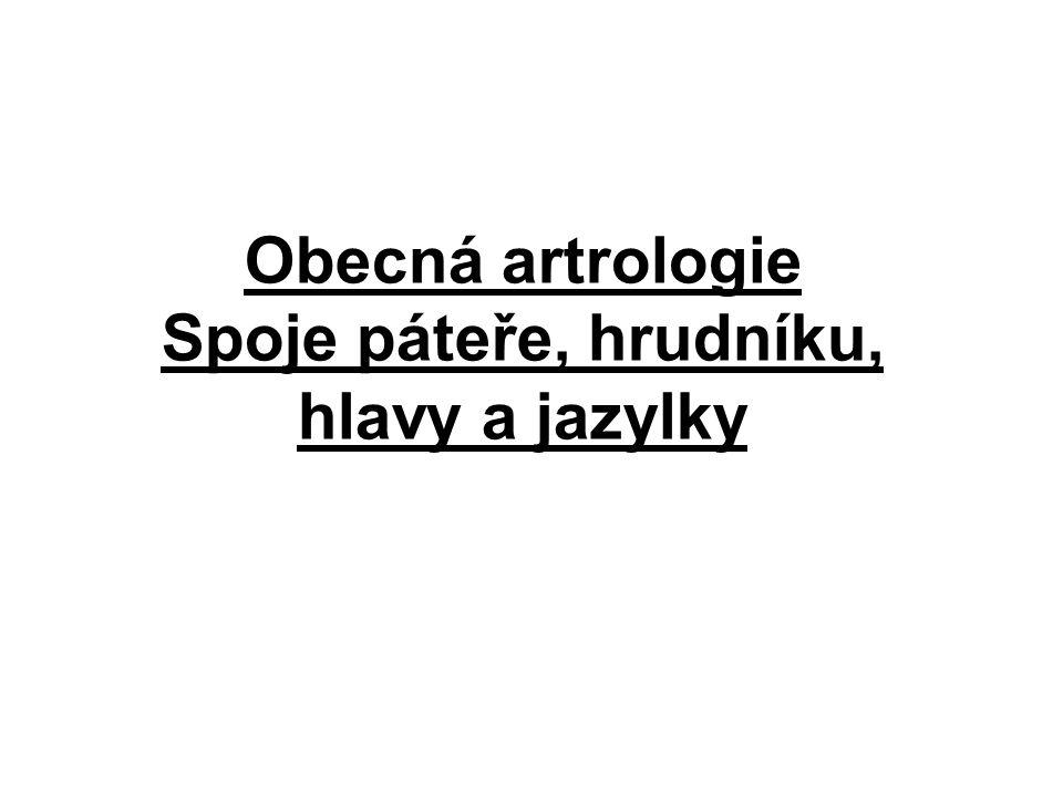 A.Articulationes costovertebrales 1.