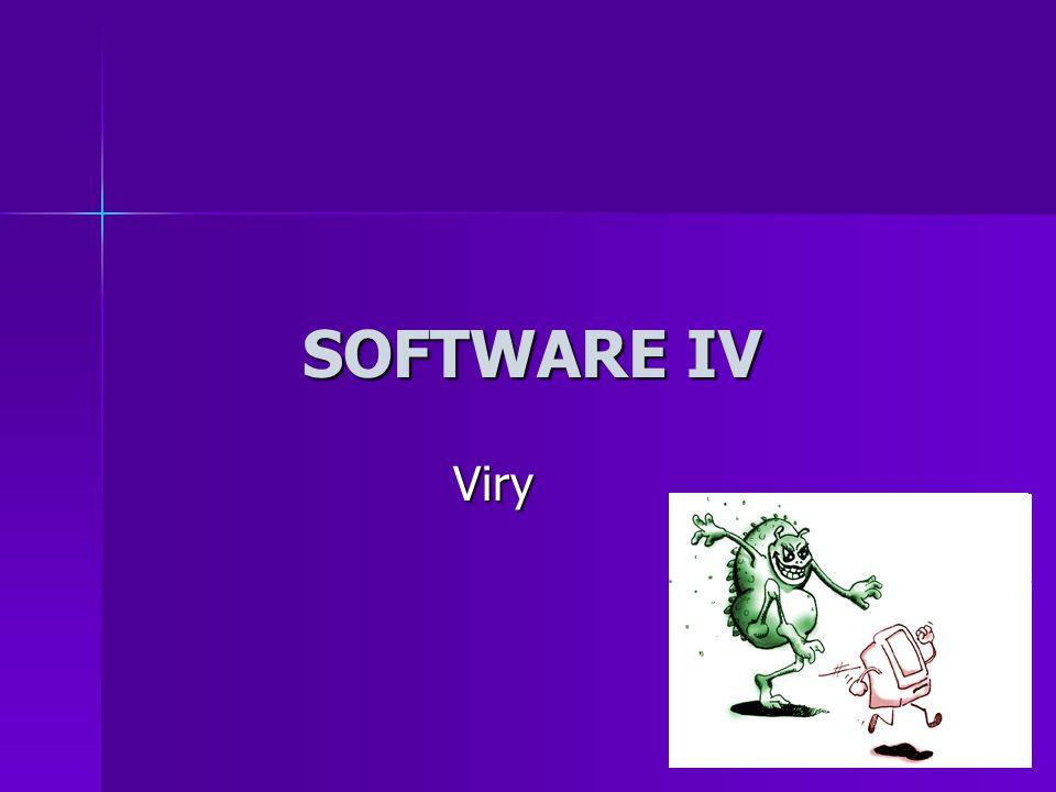 Počítačový vir Je program, který je schopen se bez vědomí uživatele množit a provádět nežádoucí operace Je program, který je schopen se bez vědomí uživatele množit a provádět nežádoucí operace Každý vir je nebezpečný a proto nežádoucí Každý vir je nebezpečný a proto nežádoucí Likvidace a obrana proti virům – antivirové programy – najdou a zlikvidují Likvidace a obrana proti virům – antivirové programy – najdou a zlikvidují