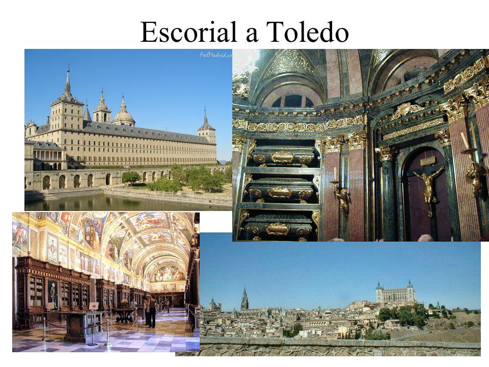 Escorial a Toledo